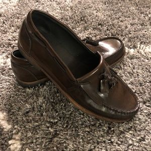 Allsaints Men's leather loafers - Size 44
